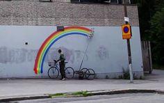 CURITIBA CYCLE CHIC: Robo-Rainbow