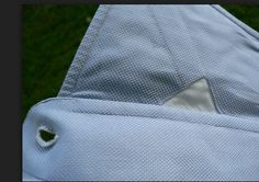Bespoke shirt detail