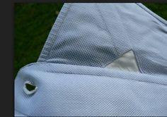 Bespoke shirt detail