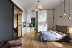 Casinha colorida: Para quem é descolado: quartos no estilo loft
