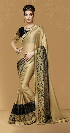Brand New Indian Ethnic Bollywood Saree Unstiched Blouse Wedding Party Wear Sari Saree Designs Party Wear, Party Wear Sarees, Saree Blouse Designs, Trendy Sarees, Stylish Sarees, Fancy Sarees, Satin Saree, Silk Sarees, Bollywood Designer Sarees