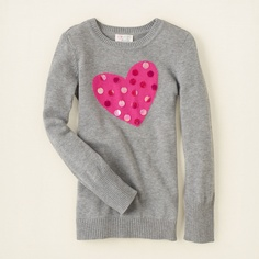 girl - sweaters - paillette icon sweater | Children's Clothing | Kids Clothes | The Children's Place