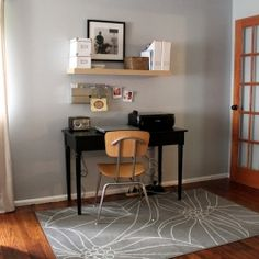 A modern and budget friendly office space put together with IKEA finds and furniture items from around our home.