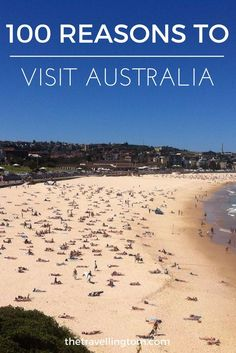 There are many reasons to visit Australia, from the beaches to the outback, there is something for everybody in Australia! If you're planning on travelling to Australia, check out my post for ideas on where to visit!