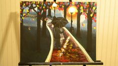 Walk way to Dreams Painting by Laura Ashley by Selena500 on Etsy, $50.00