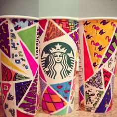 1000+ images about White cup contest on Pinterest | Starbucks ...