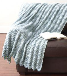 Water Ripples Crochet Afghan