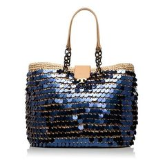 Large Fache Tote ❤ liked on Polyvore