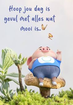 Hoop jou dag is gevul met alles wat mooi is. Good Morning Good Night, Good Morning Wishes, Good Morning Quotes, Lekker Dag, Pig Wallpaper, Cute Piglets, Afrikaanse Quotes, Goeie More, Little Pigs