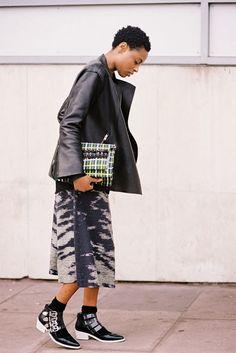 Vanessa Jackman: London Fashion Week AW 2014....Donna