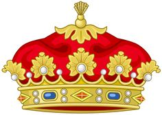 Heraldic Coronet of Princes and Princesses of the Two Sicilies