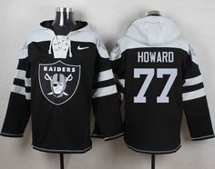 Lions Matthew Stafford jersey Nike Raiders #77 Austin Howard Black Player Pullover NFL Hoodie Darron Lee jersey DeMarco Murray jersey