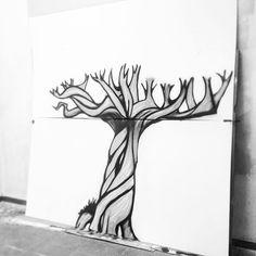 Next step!, progreso del mural de CHK. #diseño #artesania #CHK #pinturamural #_hl2_