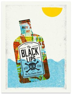 Gig Posters / The Black Lips - Gig Poster