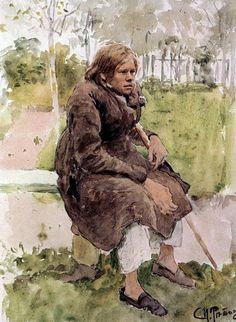 Горбун. 1880. Илья Ефимович Репин