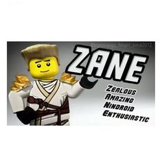 enthusiastic im not sure about that hes a pretty laid back guy zane ninjagoninjago