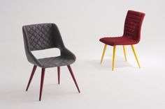 Cadeiras Palazzi e Vittoria,estes modelos contribuem para a personalidade do espaço!
