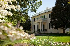 Virginia is for Lovers of Grand, Historic Homes.  Pictured is Virginia's Executive Mansion in Richmond, Virginia.