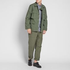 Another Asian Hipster (Engineered Garments FW 2016 BDU Jacket - NyCo...)