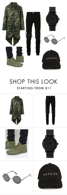 """""""navy"""" by jayonstewart-js on Polyvore featuring Hood by Air, AMIRI, Timberland, Epic, men's fashion and menswear"""