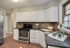 Stunning kitchen in the perfect starter home- St. Louis, MO Home Staging Companies, Starter Home, St Louis, Kitchen Cabinets, Room, Home Decor, Bedroom, Decoration Home, Room Decor