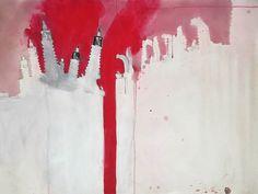 #day89 #art by #junkohanhero #drawing #painting #illustration #watercolorpencils #acrylic #お絵かき #畫畫 #ilustración #arts #artwork #drawer #painter #red Art Hub, Watercolor Pencils, Make Art, Acrylic Art, Rough Cut, Art World, Art Projects, Illustration Art, Make It Yourself