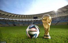 FIFA World Cup 2014 Ball | Adidas Brazuca Ball - Official FIFA World Cup 2014 Match Ball