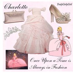 Disney Style: Charlotte, created by trulygirlygirl on Polyvore