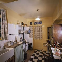 1940's House Kitchen by IWM London Events, via Flickr