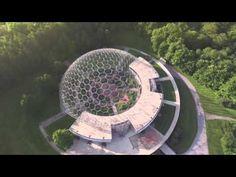 Drone Footage of the ASM International Geodesic Dome