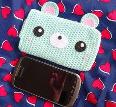 Kawaii bolsa para teléfono móvil por ZibouksProd en Etsy