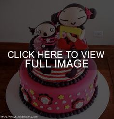 Kids Birthday Cake Decor Photograph | Pucca Birthday Cake |, 610x637 in 777.6KB
