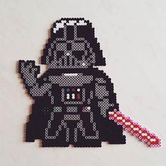 Darth Vader - Star Wars hama beads by kreconowlosa
