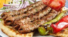 Persian Kabob Recipe, Cookbook Recipes, Cooking Recipes, Lamb Kebabs, Iranian Cuisine, Snap Food, Kabob Recipes, Greek Cooking, Greek Dishes