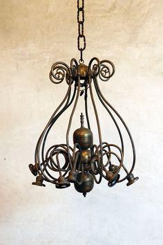 Brass - Antique Chandelier