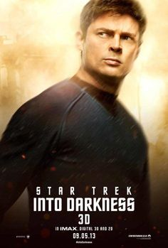 """Star Trek Into Darkness"" released these seven character banners today. Any faves?"