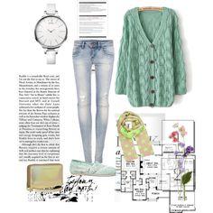 Dale un toque pastel a tu look del día con un maxi-suéter y disfruta del día nublado! 1.- Reloj Calvin Klein http://fashion.linio.com.mx/a/relojck