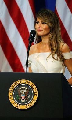 In her first public remarks since becoming First Lady, Mrs Trump said she was 'honored' by the role after thanking the room of veterans and their families for their service