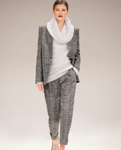 Modern Suiting: For Fall/Winter 2017,  ESCADA caters for the modern woman with impeccable tailoring and luxurious fabrics. #ESCADA #FW17 #NYFW