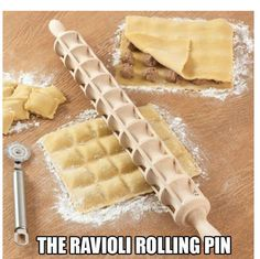 #LifeHack Ravioli rolling pin