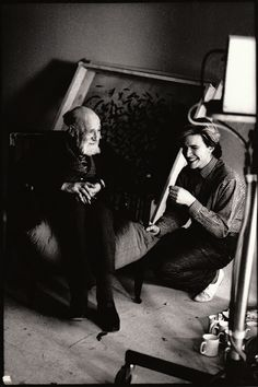David Sylvian and Angus McBean © Anton Corbijn Black N White Images, Black And White, Famous Musicians, Play S, Dutch Artists, Film Director, Creative Director, Music Artists, Rock N Roll