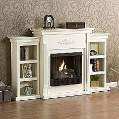 Who knew that fake fireplaces would make me so excited!!