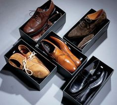You only need five pairs of shoes to take you from workday to weekend. Here's how to buy the right ones.