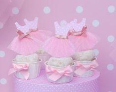 Pink Balllerina: Cupcake Toppers