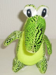 Collectable Cute Brightly Coloured Plush Soft Toy Crocodile, New with Tags