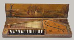 Clavichord, 1763 Christian Kintzing Neuwied, Germany Wood