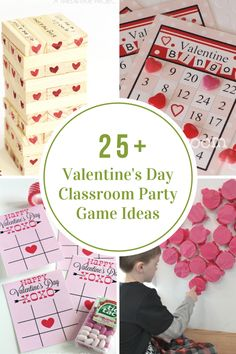 Are you looking for some Valentine's Day Classroom Party Games and Activities?