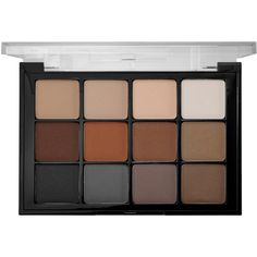 Viseart Viseart Eyeshadow Palette ($80) ❤ liked on Polyvore featuring beauty products, makeup, eye makeup, eyeshadow, beauty, accessories, eye brow makeup, palette eyeshadow, highlighting kit and mineral eyeshadow