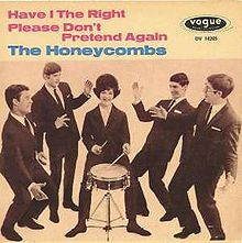 """The Honeycombs -  Have I The Right?  Year: 1964 Was The Honeycombs' debut single and biggest hit. It was composed by Ken Howard and Alan Blaikley.  The single's sales started slowly, but by the end of July the record started to climb in the UK Singles Chart. At the end of August the record reached #1. Outside the UK """"Have I the Right?"""" was a big success too. The song became #1 in Australia, Canada and Sweden.  In the US the record topped out at #5."""