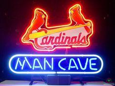 Man Cave St Louis Cardinals Neon Sign MLB Teams Neon Light